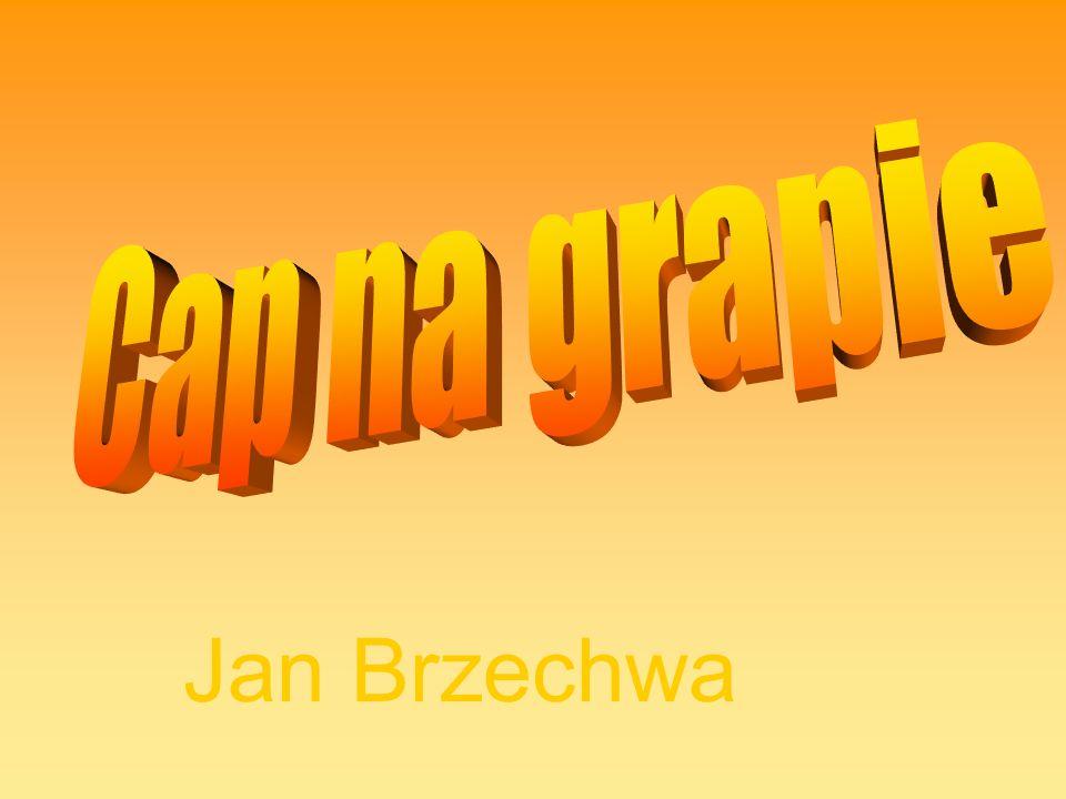 Cap na grapie Jan Brzechwa