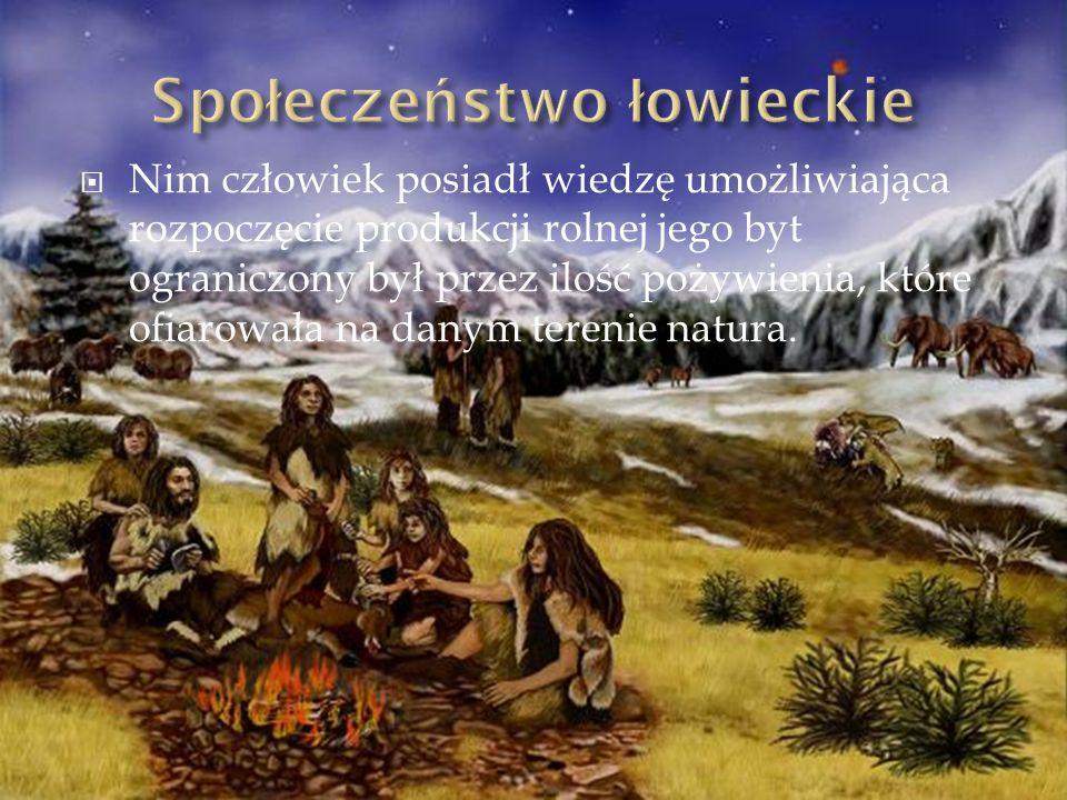 Społeczeństwo łowieckie