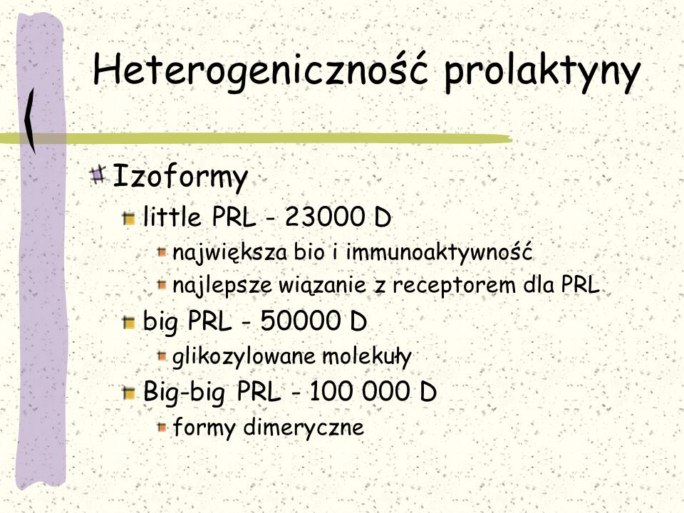 Heterogeniczność prolaktyny
