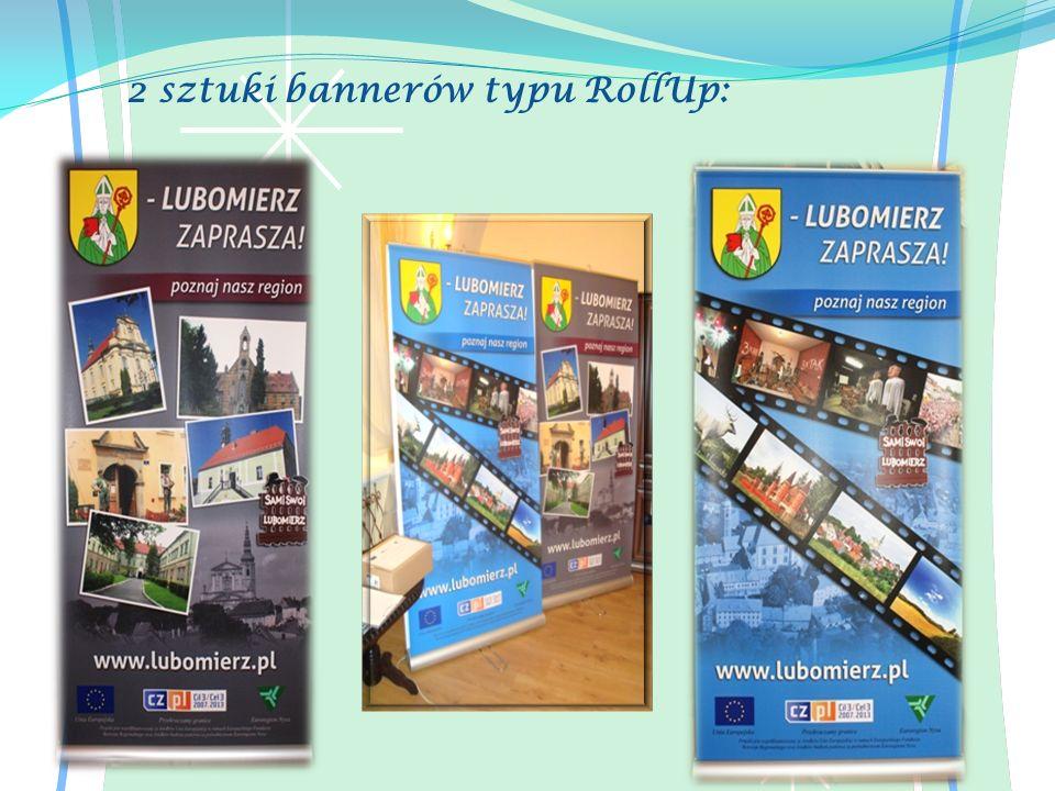 2 sztuki bannerów typu RollUp: