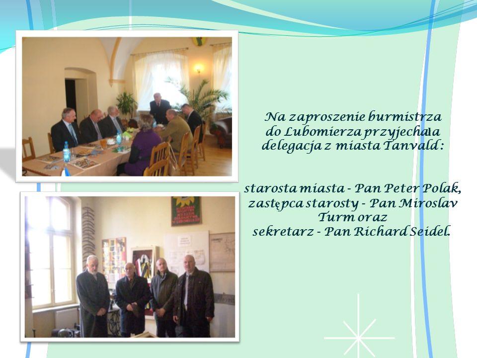 Na zaproszenie burmistrza
