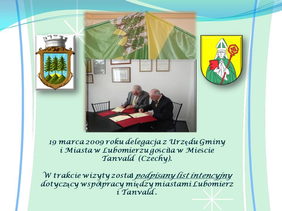 19 marca 2009 roku delegacja z Urzędu Gminy