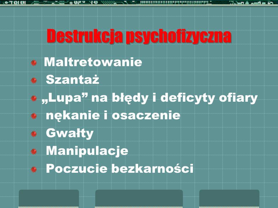 Destrukcja psychofizyczna