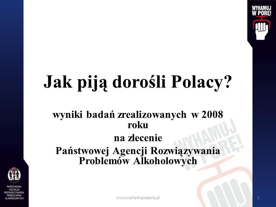 Jak piją dorośli Polacy