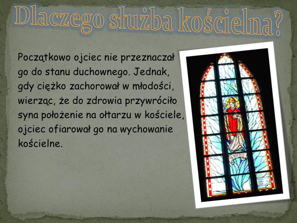 Dlaczego służba kościelna