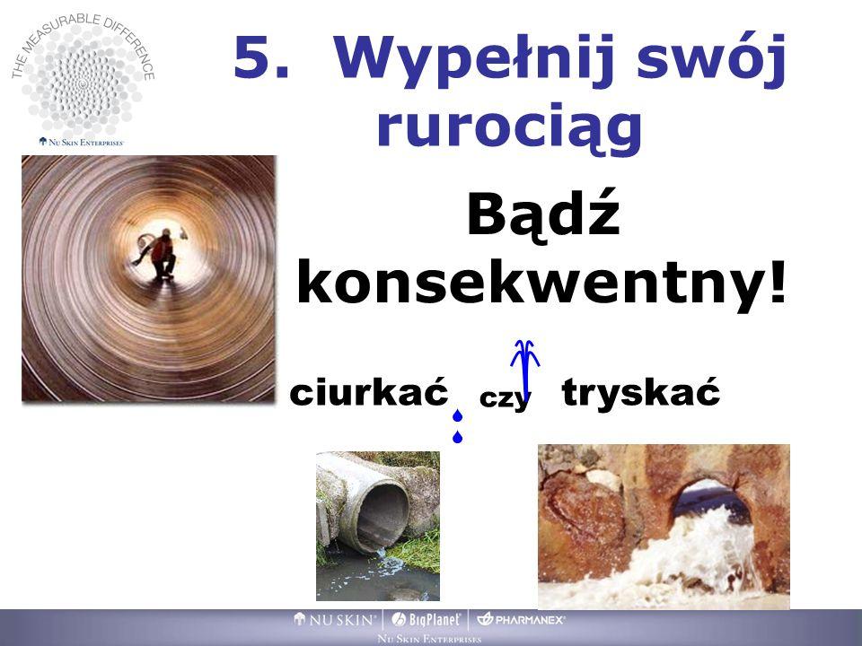 5. Wypełnij swój rurociąg