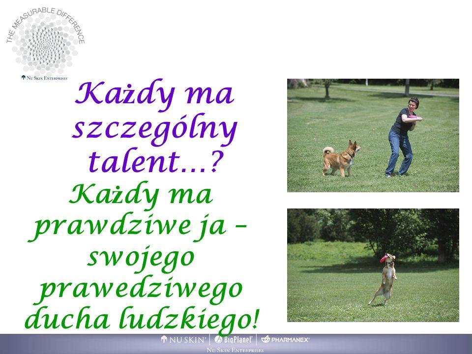 Każdy ma szczególny talent…