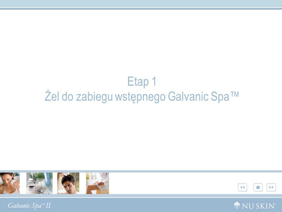 Etap 1 Żel do zabiegu wstępnego Galvanic Spa™