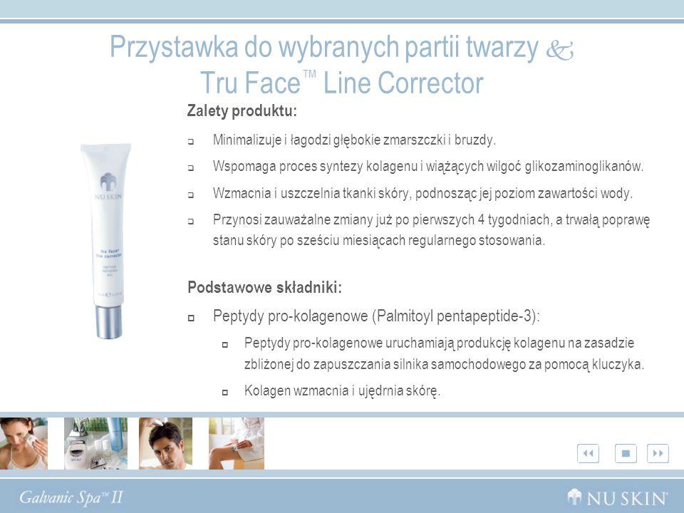 Przystawka do wybranych partii twarzy  Tru Face™ Line Corrector