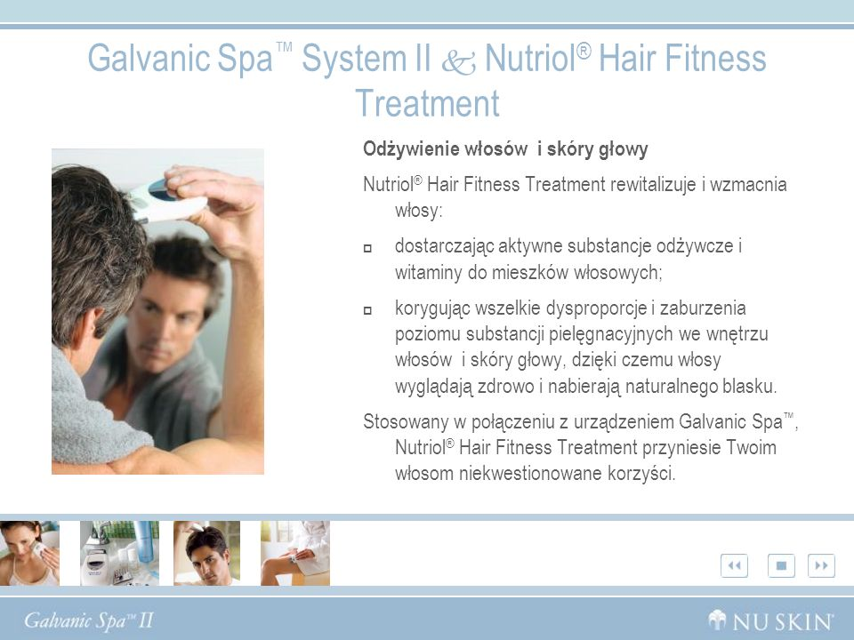Galvanic Spa™ System II  Nutriol® Hair Fitness Treatment