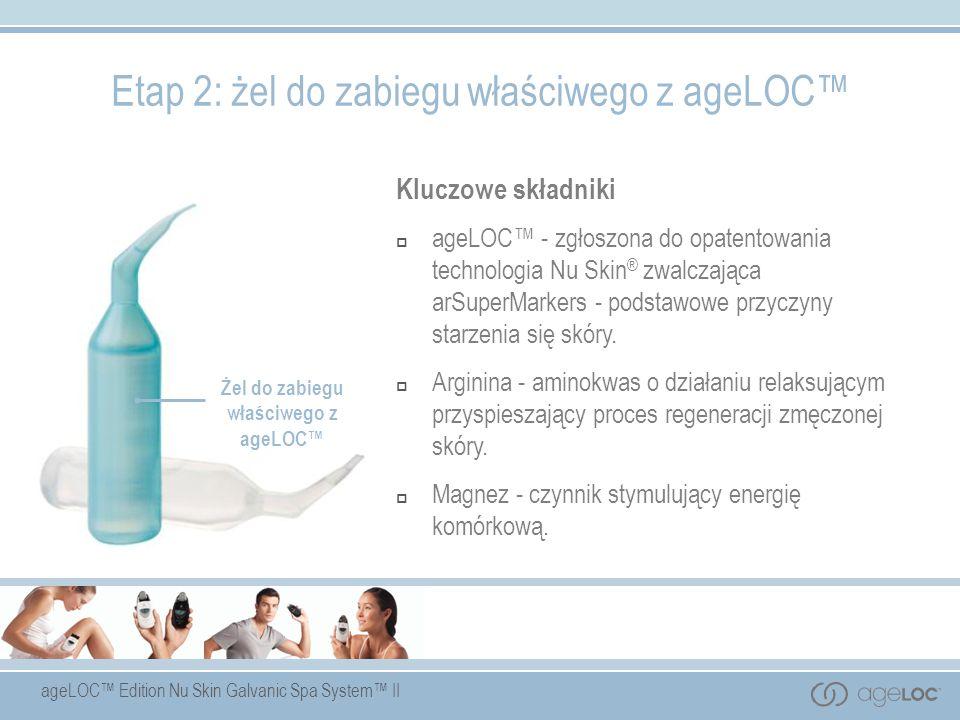 Żel do zabiegu właściwego z ageLOC™