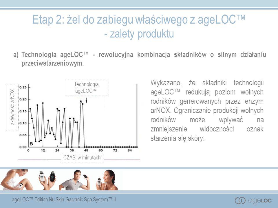 Etap 2: żel do zabiegu właściwego z ageLOC™