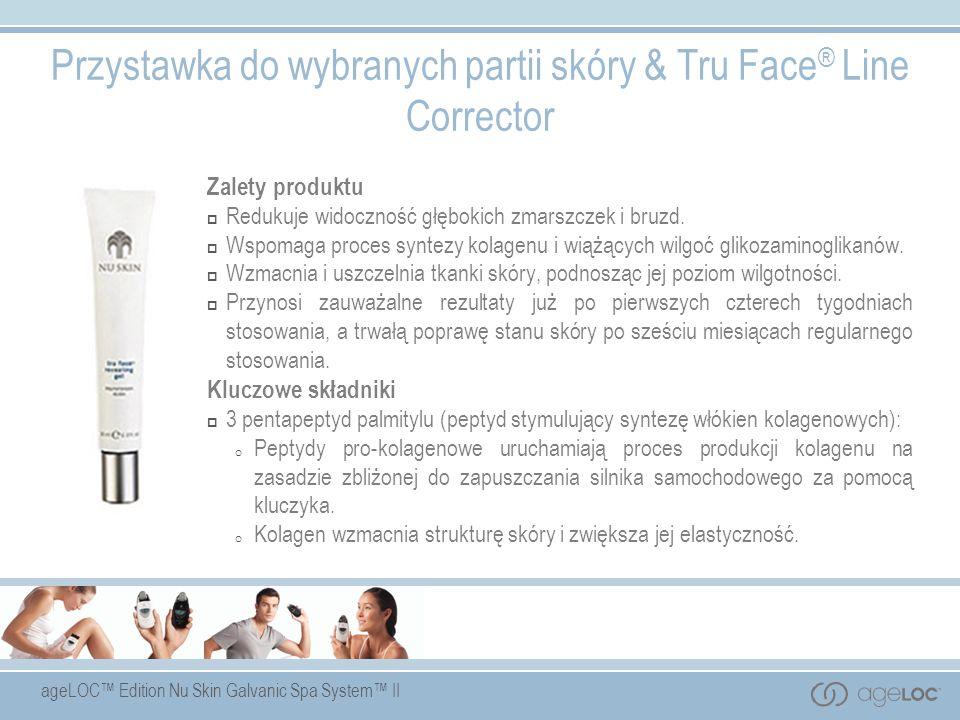 Przystawka do wybranych partii skóry & Tru Face® Line Corrector