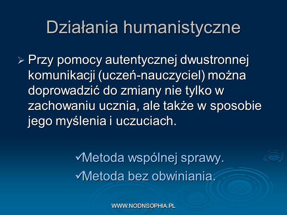 Działania humanistyczne
