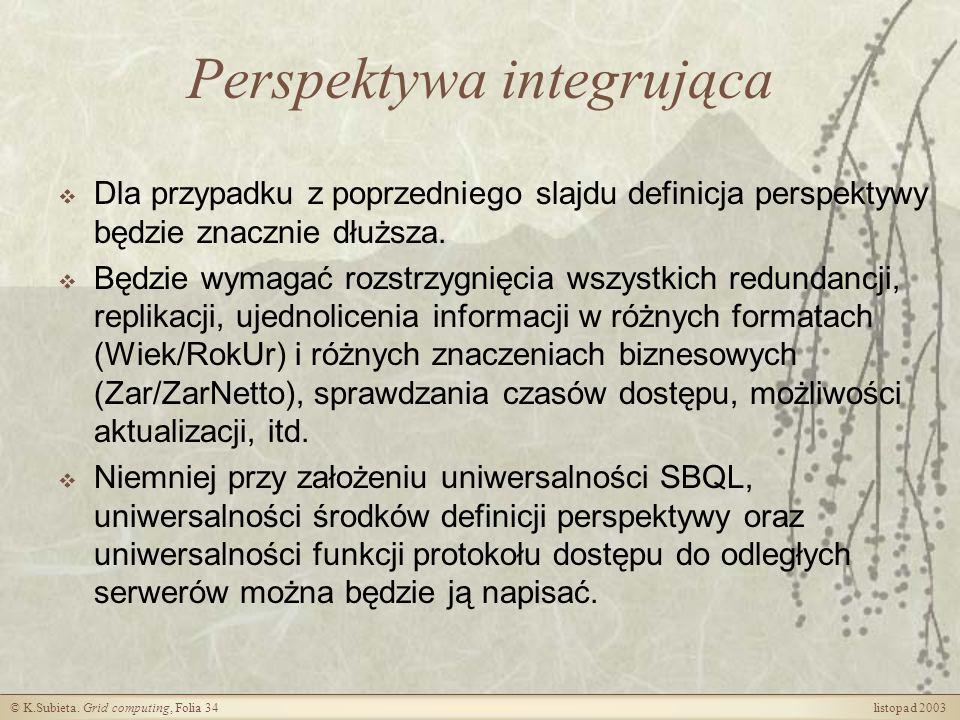 Perspektywa integrująca