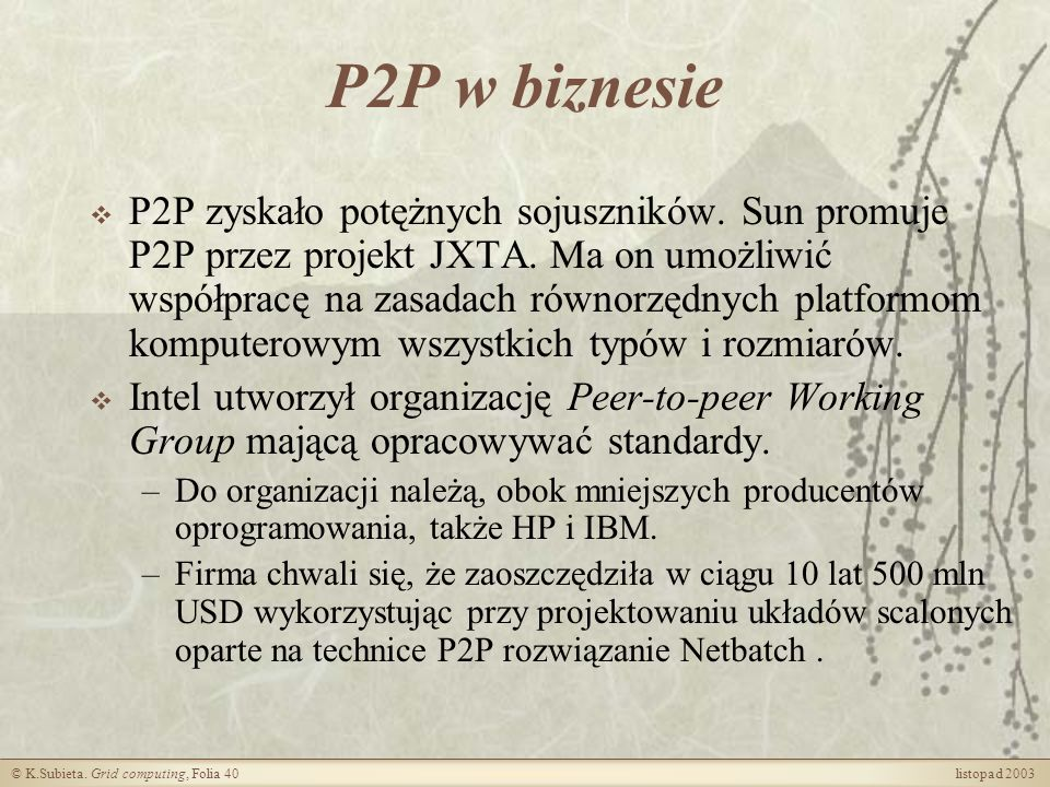 P2P w biznesie