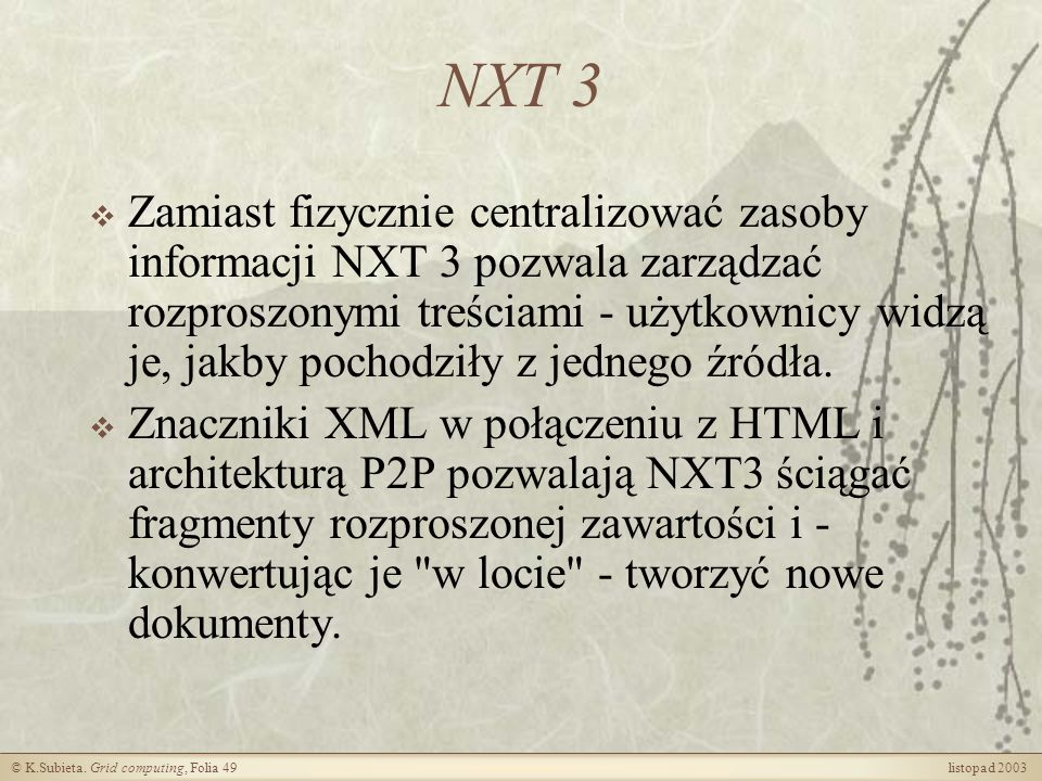NXT 3