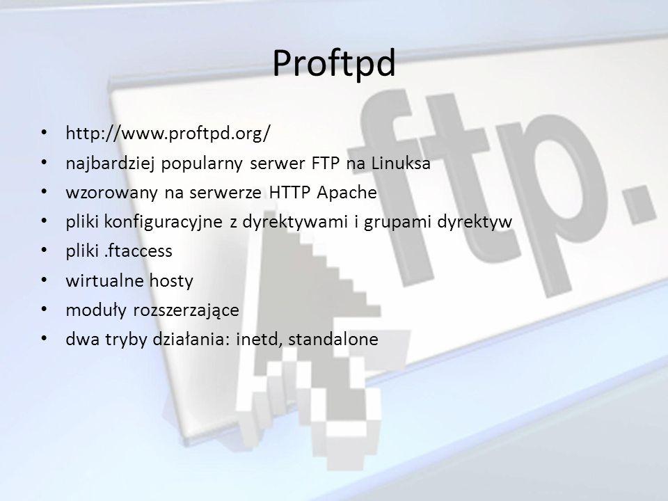 Proftpd http://www.proftpd.org/