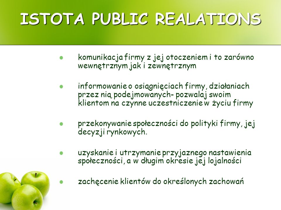 ISTOTA PUBLIC REALATIONS