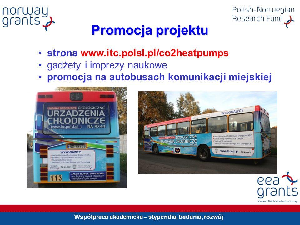 Promocja projektu strona www.itc.polsl.pl/co2heatpumps