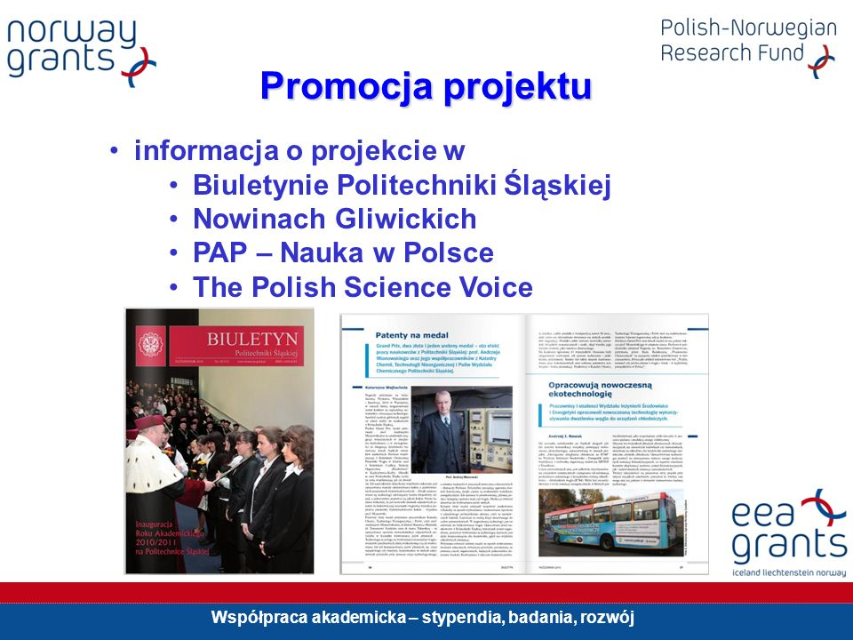 Promocja projektu informacja o projekcie w