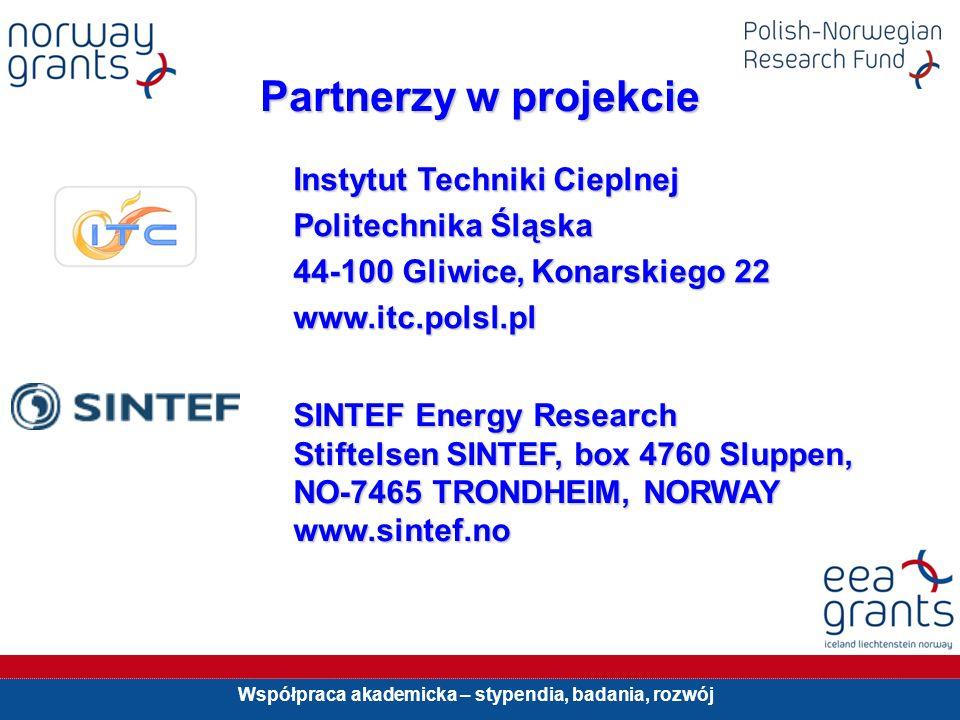 Partnerzy w projekcie Instytut Techniki Cieplnej Politechnika Śląska