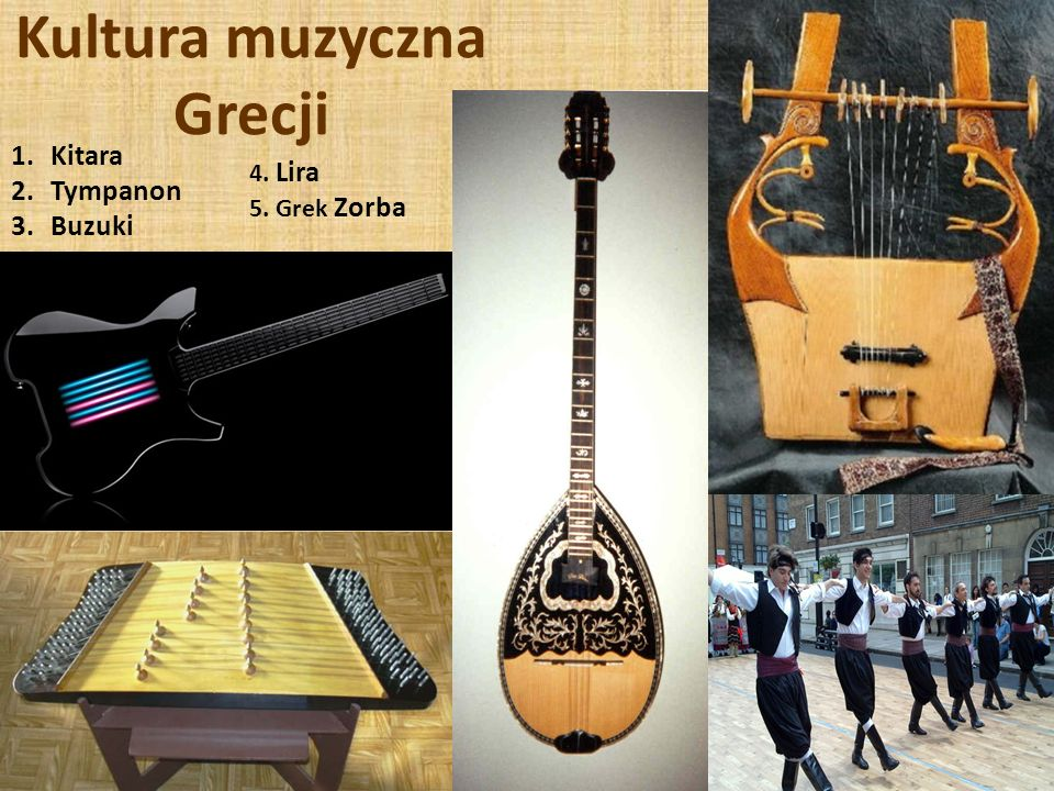 Kultura muzyczna Grecji