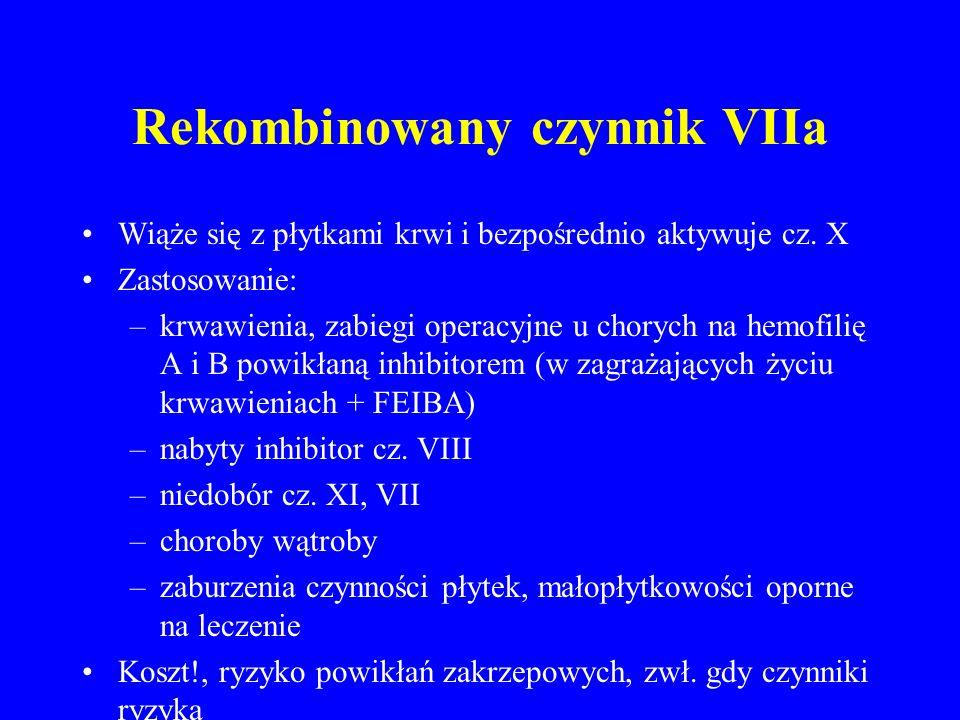 Rekombinowany czynnik VIIa