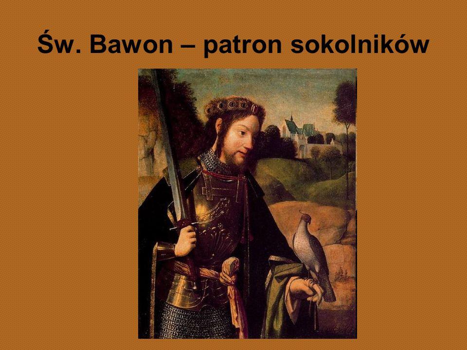 Św. Bawon – patron sokolników