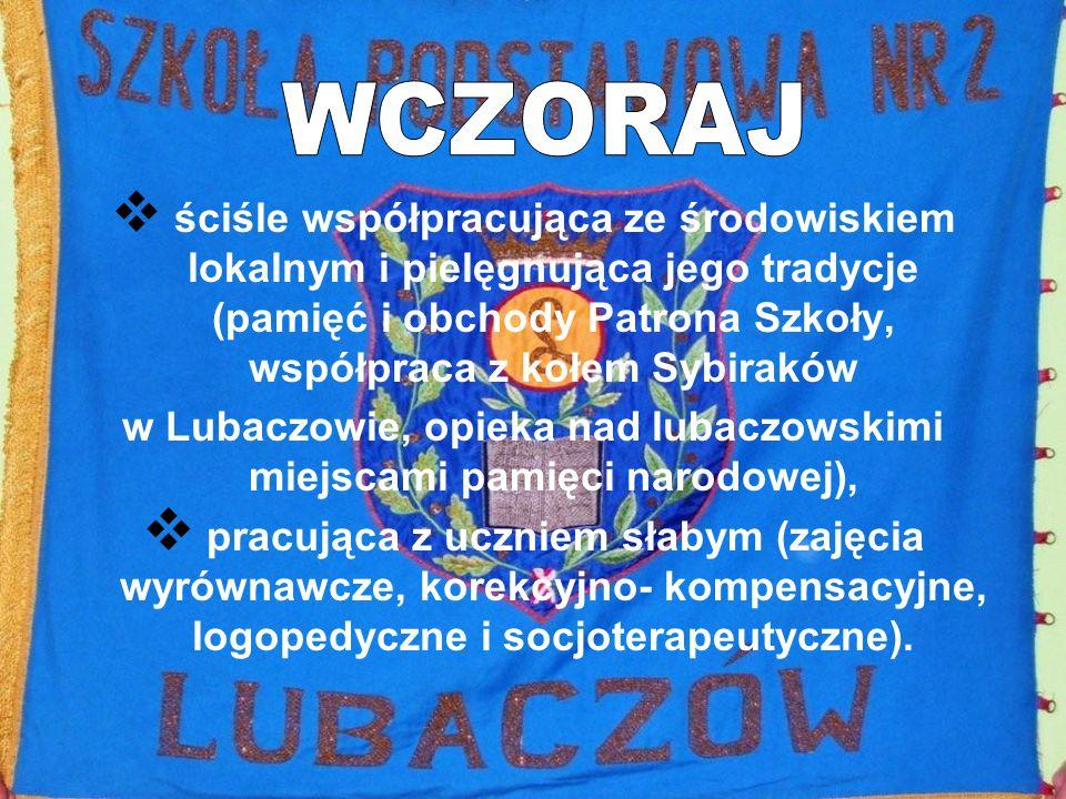 w Lubaczowie, opieka nad lubaczowskimi miejscami pamięci narodowej),