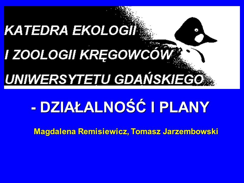 Magdalena Remisiewicz, Tomasz Jarzembowski