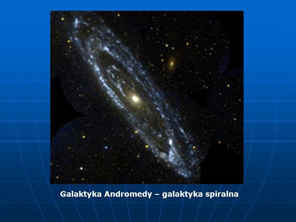 Galaktyka Andromedy – galaktyka spiralna
