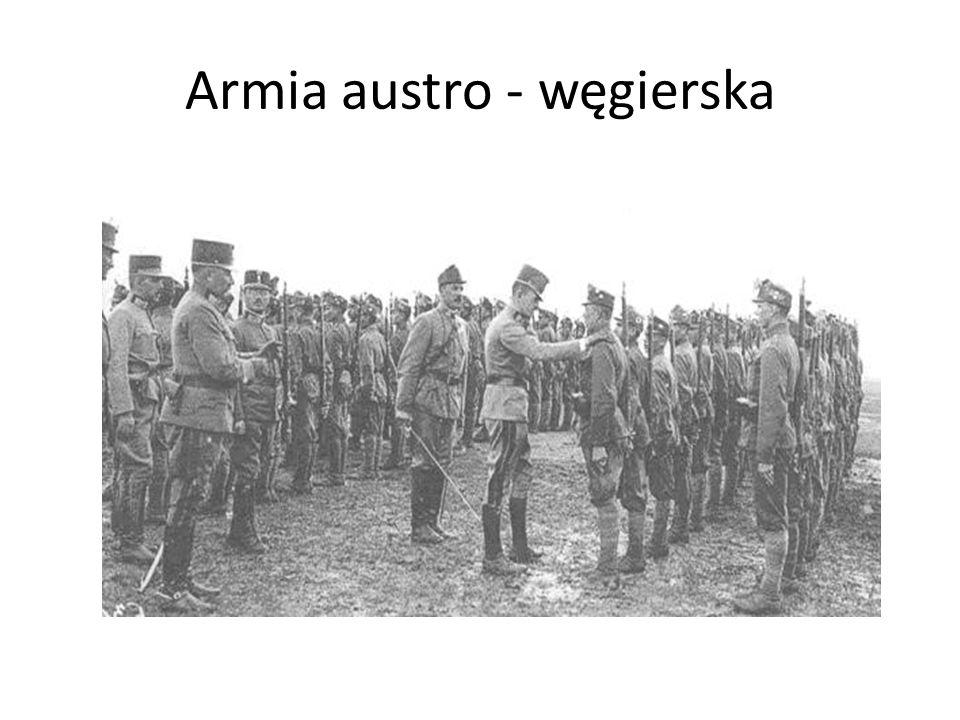 Armia austro - węgierska