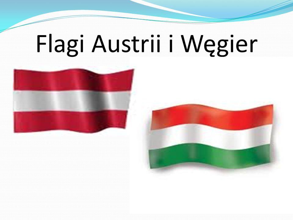 Flagi Austrii i Węgier