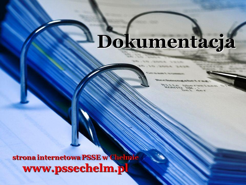 strona internetowa PSSE w Chełmie