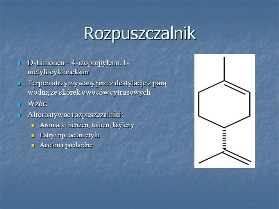Rozpuszczalnik D-Limonen – 4-izopropyleno, 1-metylocykloheksan