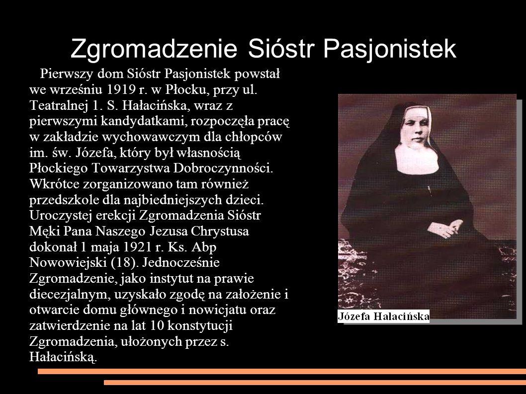 Zgromadzenie Sióstr Pasjonistek