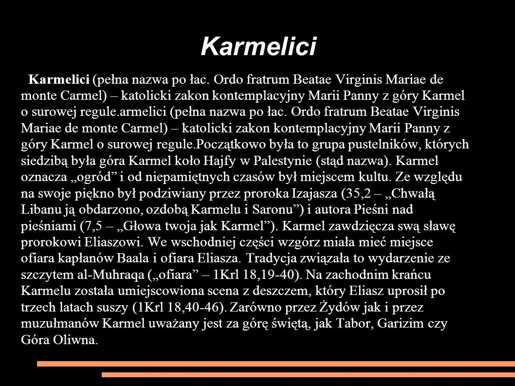 Karmelici