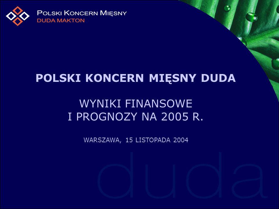 POLSKI KONCERN MIĘSNY DUDA