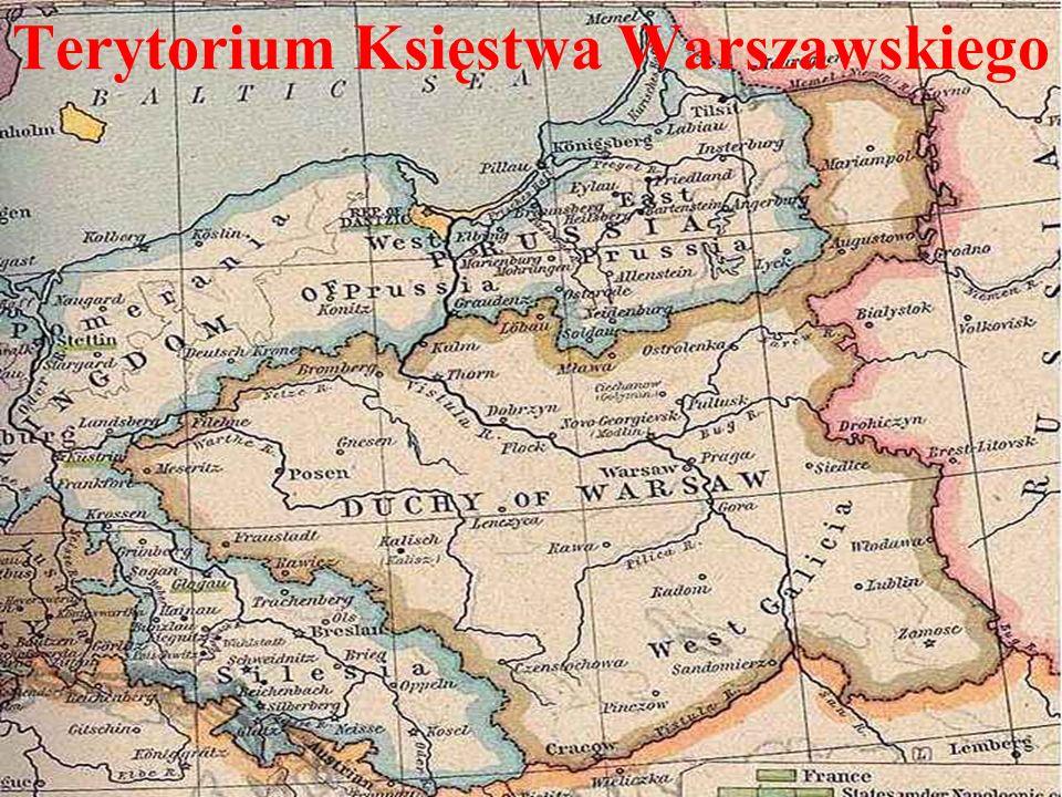 Terytorium Księstwa Warszawskiego