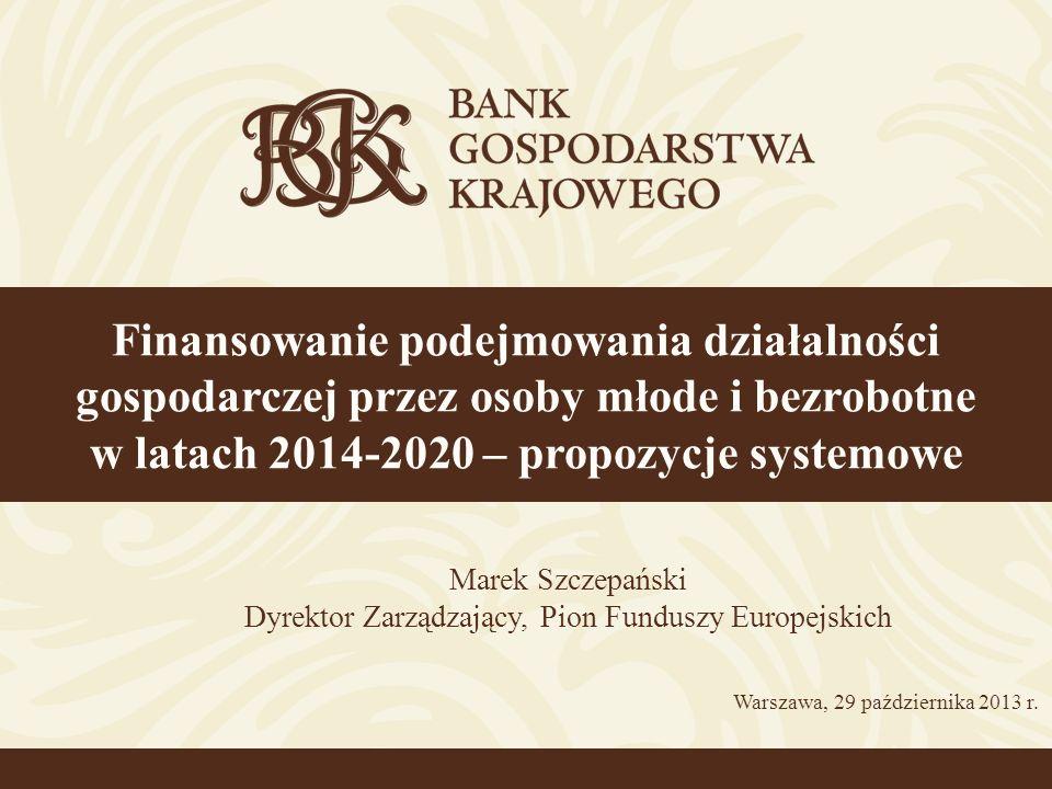 Dyrektor Zarządzający, Pion Funduszy Europejskich