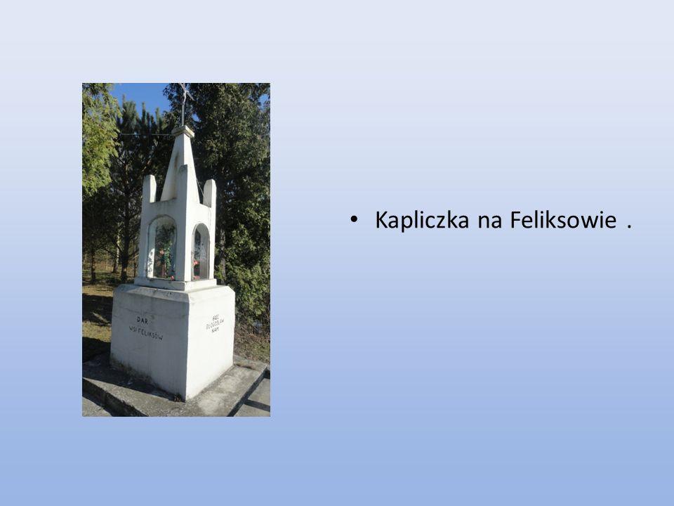 Kapliczka na Feliksowie .