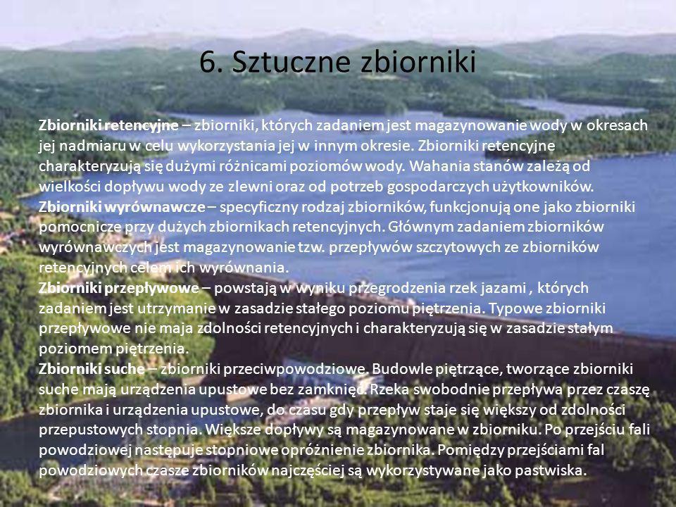 6. Sztuczne zbiorniki