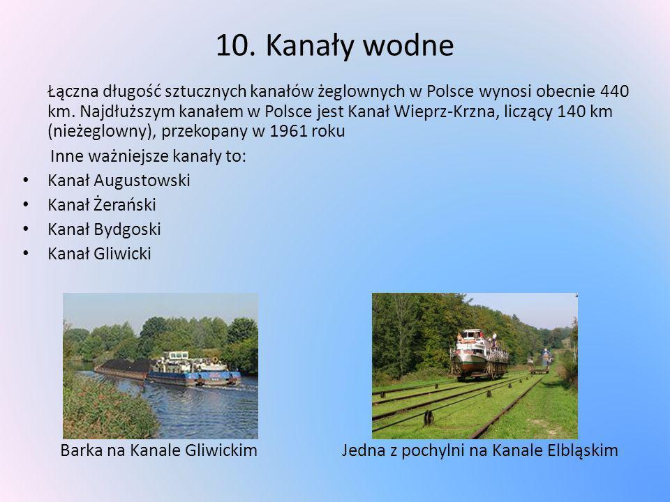 10. Kanały wodne