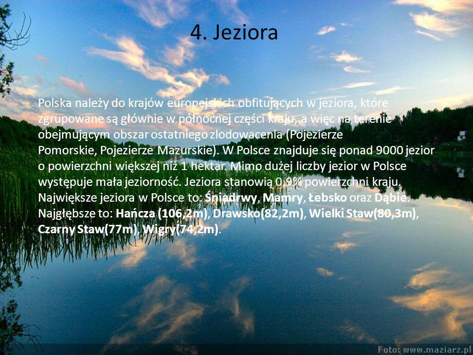 4. Jeziora