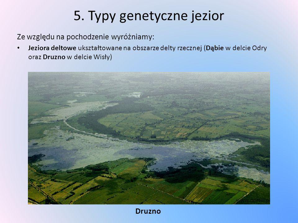 5. Typy genetyczne jezior