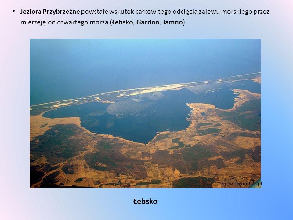 Jeziora Przybrzeżne powstałe wskutek całkowitego odcięcia zalewu morskiego przez