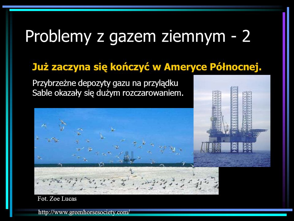 Problemy z gazem ziemnym - 2