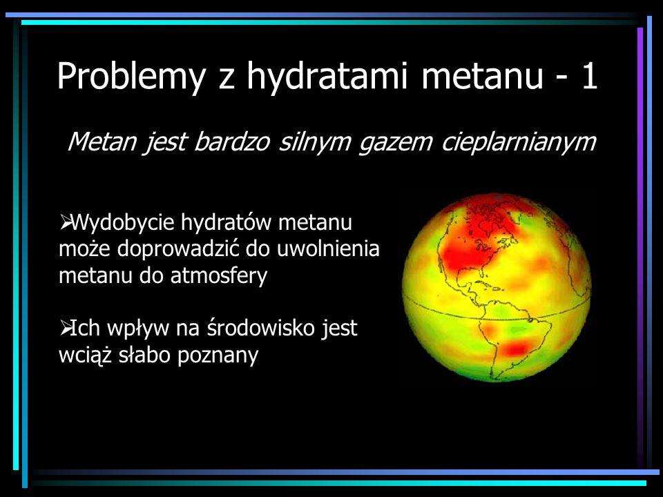 Problemy z hydratami metanu - 1