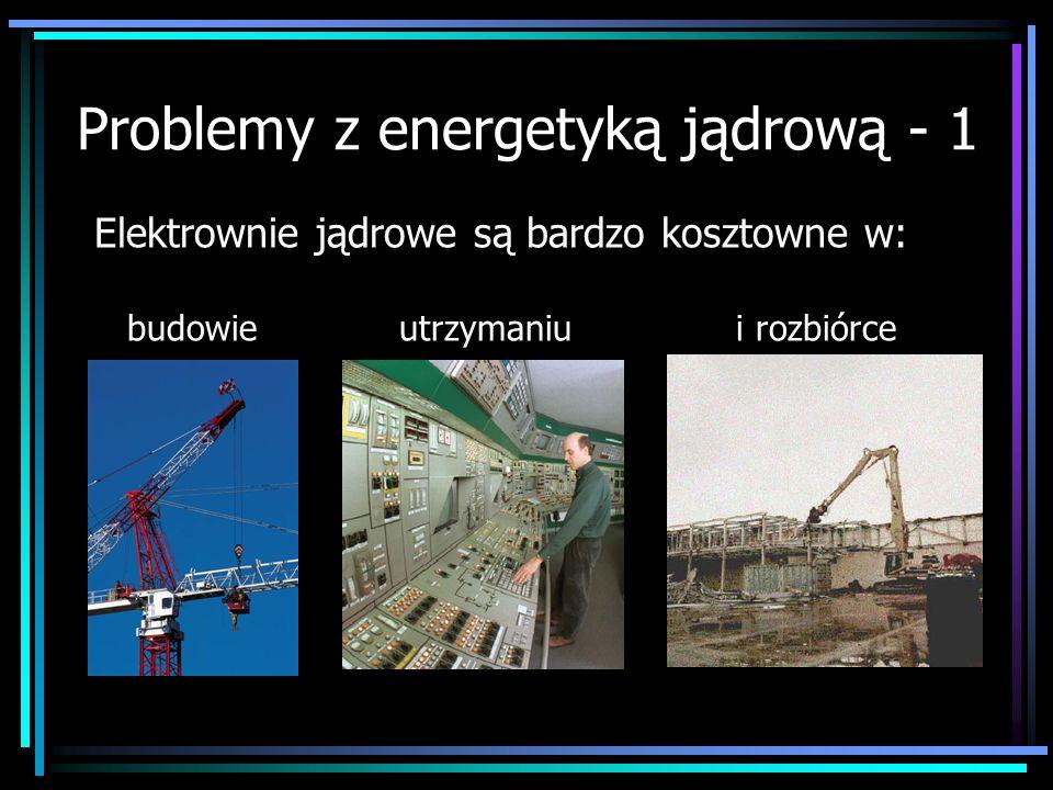 Problemy z energetyką jądrową - 1